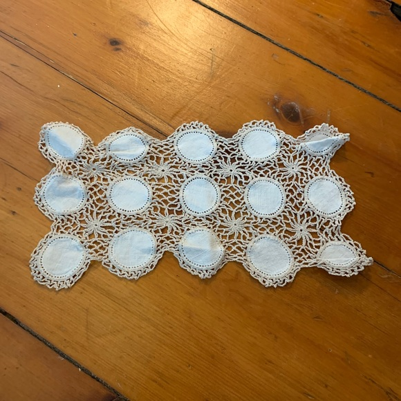Vintage Other - Vintage Crochet Boho Table Covering